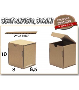 Scatola fustellata 8x8,5x10