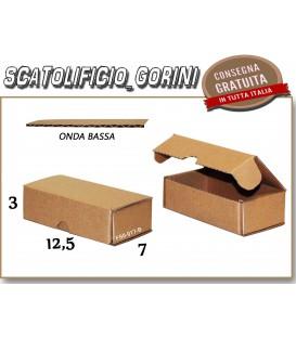 Scatola fustellata 12,5x7x3
