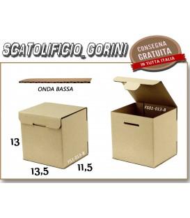 Scatola fustellata 13,5X11,5X13