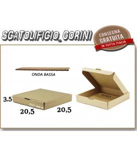 Scatola fustellata 20,5x20,5x3,5