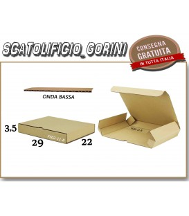 Scatola fustellata 29X22X3,5
