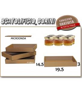 Scatola vassoio 19,5x14,5x3