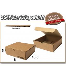 Scatola fustellata 16x16,5x5