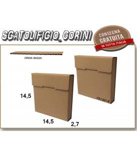 Scatola fustellata 14,5x14,5x2,7
