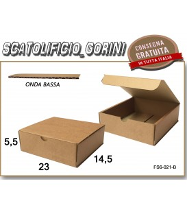 Scatola fustellata 23x14,5x5,5