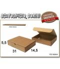 Scatola fustellata 31x14,5x5,5
