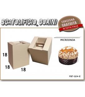 Scatola PER PANETTONE  1kg 18x18x18