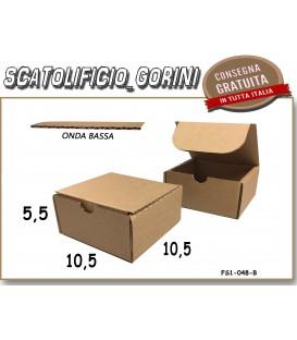 Scatola fustellata 10,5x10,5x5,5