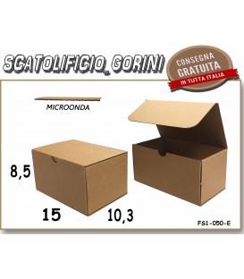 Scatola fustellata 15x10,3x8,5