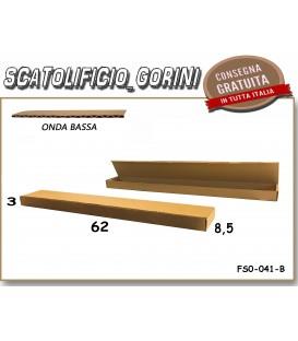 Scatola fustellata 62x8,5x3