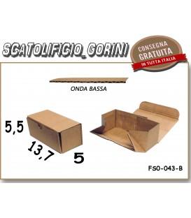 Scatola fustellata 19,5x14,5x4,3