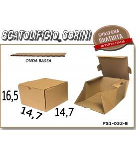 Scatola fustellata 14,7x14,7x16,5
