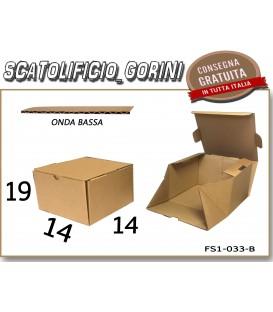 Scatola fustellata 14x14x19