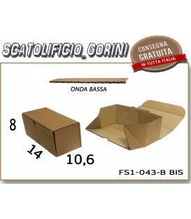 Scatola fustellata 14x10,6x8