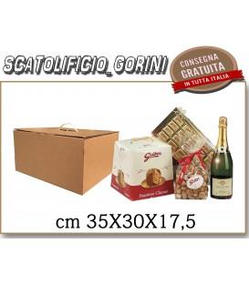 Scatola fondo e coperchio CON MANIGLIA 30X35X17,5