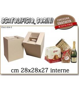 Scatola PER PANETTONE   28X28X27