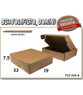 Scatola fustellata 33x19x7,5