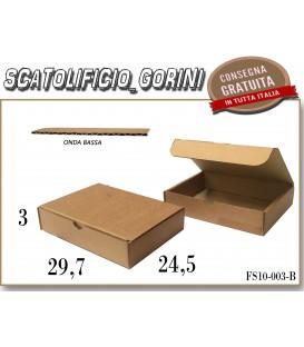 Scatola fustellata 29,7x24,5x3
