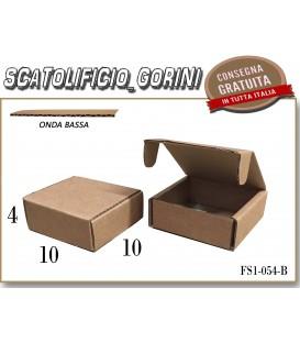 Scatola fustellata 10x10x4