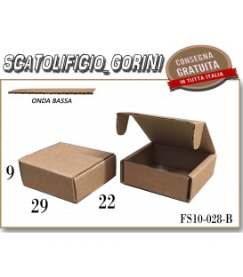 Scatola fustellata 29x22x9