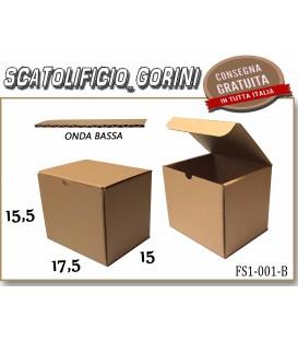 Scatola fustellata 17,5x15x15,5