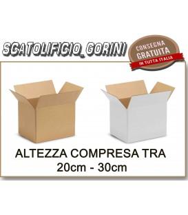 ALTEZZA TRA  20 e 30 cm